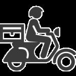 online delivery για sites