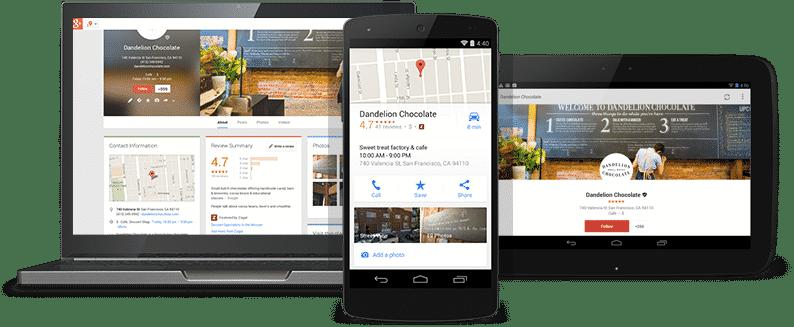Προβολή σε αναζήτηση και χάρτες Google